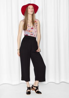 & Other Stories   Wide-Leg Trousers