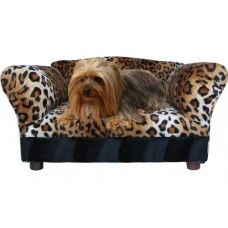 Fantasy Furniture Mini Sofa Leopard Pet Bed