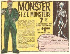 Vintage Comic Book Ad