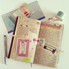 Inspirations for my ever impending goal of journaling... at all.