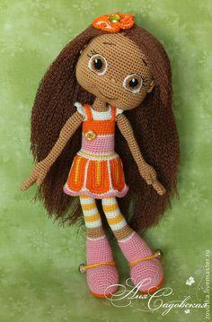 Orange Blossom Amigurumi Doll Crochet Pattern PDF file by Crochet Amigurumi, Amigurumi Patterns, Amigurumi Doll, Doll Patterns, Crochet Patterns, Knitted Dolls, Crochet Dolls, Love Crochet, Crochet Baby