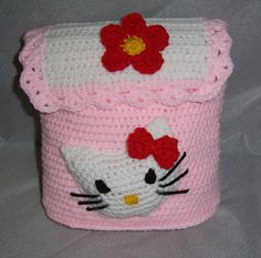 Crochet Hello Kitty Purse free pattern: Craft Passions