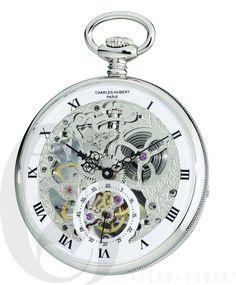 Modern 3938: Charles-Hubert Paris Open Face Mechanical Pocket Watch - #3971-W -> BUY IT NOW ONLY: $334.95 on eBay!