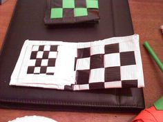 Duct Tape Wallet Pockets!, via Flickr.