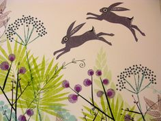 """""""March Hares in Mid-June"""" by Jane Ormes"""