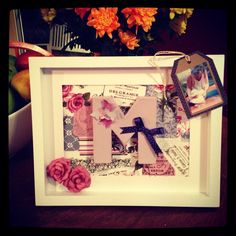 Mother's Day gift ideas ~ Spell mom and put what she stands for in the background