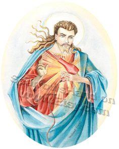 Sacred Hairdryer...Jesus with a mullet lol
