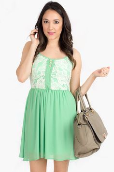 What can I say? I just have a thing for mint dresses! Get 10% off of your first purchase when you register! Just follow the link: http://www.modernego.com?r=4021 $36.00