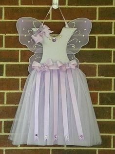 Girl's Lovely Lavender Tutu Hair Bow Holder - Girl's Tutu Hairbow Holder
