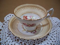 Hammersley Bone China Made in England Tea Cup and Saucer | eBay