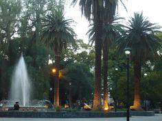 Ciudad de Mendoza, provincia de Mendoza, Argentina, noviembre 2011