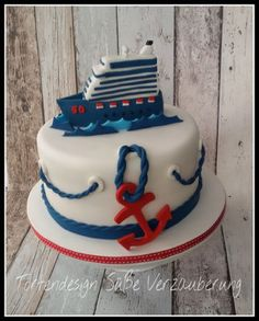 Maritim Cake - Nautical Cake