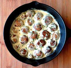 Serve this Vegan Mushroom Stroganoff over egg-free wide noodles or your favorite pasta.