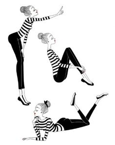 illustration roxy black and white.jpg - Roxy LAPASSADE | Virginie