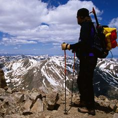 Take a deep breath and go for the highest peak in Colorado, Mt. Elbert at 14,440 ft.   Or show your election year spirit by climbing a politically christened 14-er: Mt. Lincoln (14,286 feet), Mt. Wilson (14,246 feet) or Mt. Democrat (14,148 feet).