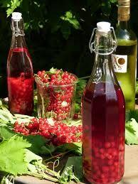 Наливка из ягод. Нежный смородиновый привкус. Смородина — 200 гр. Водка домашняя — 500 мл. Сахар — 100 гр.