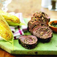 Sirloin-steak rolls with mushroom stuffing recipe - Chatelaine.com
