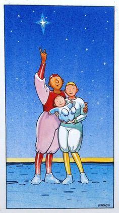 Moebius A Star is Born par Moebius - Illustration