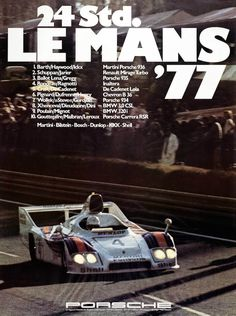 Porsche at Le Mans 1974 to 1981 - History, Photos, Profile