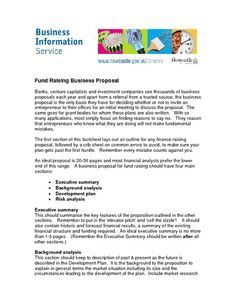 Business proposal sample template it doc project document.