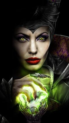 maleficent, Angelina Jolie, and disney afbeelding