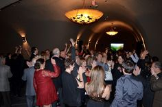 2015 Wine Club Holiday Party. Dancing after a wonderful dinner. The band was wonderful!
