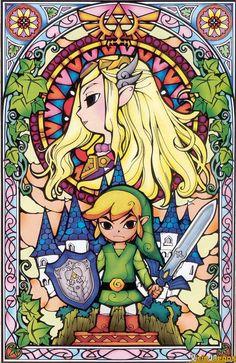 Wall Zelda