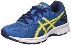 Gel-Nimbus 19, Chaussures de Running Homme, Bleu (Indigo Blue/Safety Yellow/Electric Blue), 39.5 EUAsics