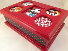 Jewelry boxes etc on pinterest jewelry box musical for Minnie mouse jewelry box