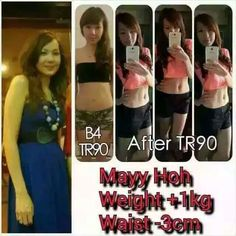 Mayy Hoh lost her slight bulging belly and turned into a hot siren with Losing Her, Weight Management, Lose Fat, Genetics, Metabolism, Muscle, People, Lost, Women