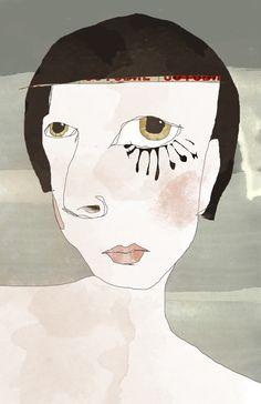 « influence » inspiration: un personnage d'hannah höch https://www.facebook.com/pages/Linda-Vachon-t%C3%AAte-de-caboche/655536421196097