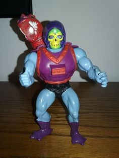 Masters Of The Universe Dragon Blaster Skeletor Vintage MOTU Figure Mattel nice #Mattel
