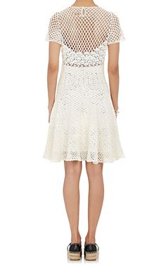 Spencer Vladimir Crochet A-Line Dress