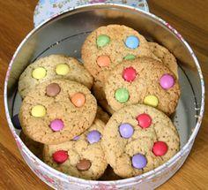 Rainbow cookies made with Scarlet Bakes Rainbow Cookie Mix Jar! #cookies