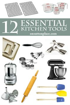 My Favorite Things Issue 2 | List of essential, must have kitchen tools for making your time in the kitchen easier and more productive! For beginners and pros alike. Easy links to all the featured products.