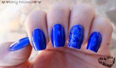 ♥♥♥ Darly Polisholic ♥♥♥: ♥♥ Colección Living Colours: swatch de Night Blue ♥♥