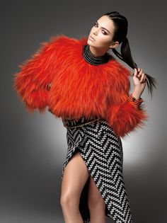 5 Kendall Jenner and Olivier Rousteing in Balmain for Sunday Times Style