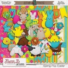 FranB Designs spring  : Scraps N Pieces Store