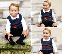 Prince George of Cambridge. What a cutie!!!