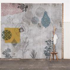 Painel concreto cinza Calu Fontes