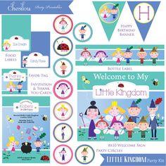 Customized Ben & Holly's Little Kingdom Digital Printable