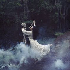 She danced every night as the cool fog rolled around her, as if she were possessed by an unknown spirit.