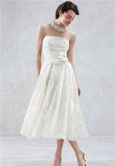 David's Bridal Galina Style WG3313