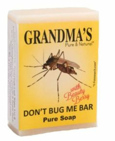 Don't Bug Me Bar - Insect Repellent -http://ana-gails-mercantile.hostedbywebstore.com/
