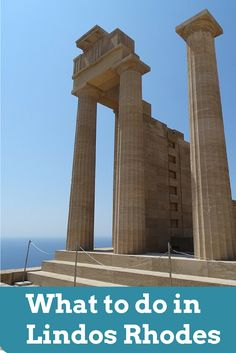 Top things to see in Lindos Rhodes Greece