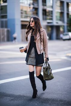3 Ways to Wear Over-the-Knee Boots - Blank Itinerary