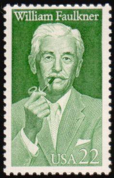 Literary Stamps: Faulkner, William (1897-1962)