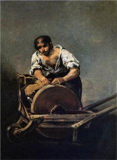 El Afilador  - Francisco de Goya