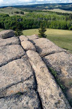 Mystery Rocks, Cypress Hills, Saskatchewan