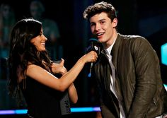 Camila Cabello and Shawn Mendes
